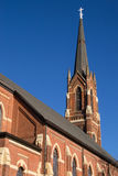 Old Midwest church. Royalty Free Stock Images