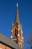 Old Midwest church. Royalty Free Stock Photo