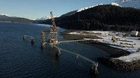 Abandoned industrial site in Alaska home to bald eagles