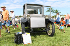 Old Milburn Car at the car show Royalty Free Stock Photos