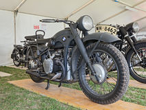 Old military BMW R12 Stock Images