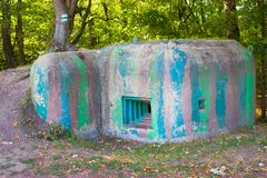 An old military bunker Royalty Free Stock Images