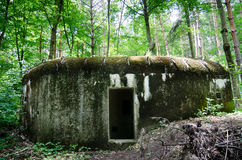 Old military bunker Stock Images