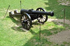 Old military cannon Stock Photography