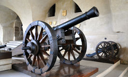 Old military cannon Royalty Free Stock Images