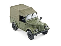 Old military car. Model of an old Russian military vehicle Stock Photography