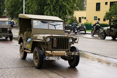 The old military car Royalty Free Stock Photo