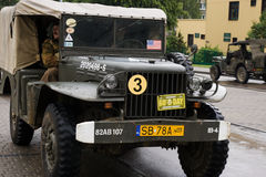 The old military car Royalty Free Stock Image