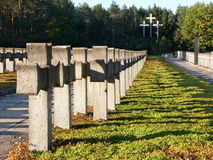 Old military cemetery Stock Photo