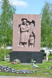 Old military cemetery in Lappeenranta Stock Photography