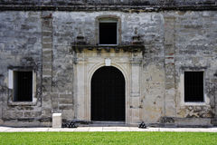 Old Military Chapel. In Castillo de San Marcos, St. Augustine, Florida Stock Images