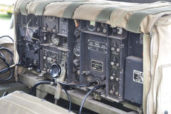 Old Military Communications Radio Royalty Free Stock Photos
