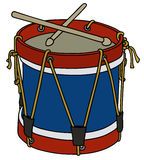Old military drum Royalty Free Stock Photography