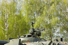 Old military equipment Stock Images
