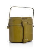 Old military flask Royalty Free Stock Images