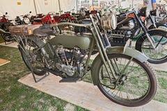 Old military Harley Davidson Stock Image