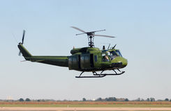 Old military helicopter Royalty Free Stock Photos