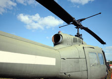 Old military helicopter Royalty Free Stock Images