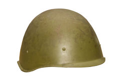 An old military helmet, Royalty Free Stock Image