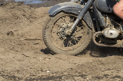 Old military motorcycle DKW Royalty Free Stock Photography