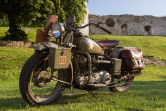 Free Old Military Motorcycle From WWII Stock Photos - 49787743