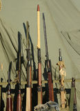 Old military rifles Stock Images