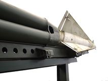 Old Military Rocket and Launcher Royalty Free Stock Photo