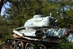 Old military tank Stock Images