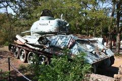 Old military tank Royalty Free Stock Photos