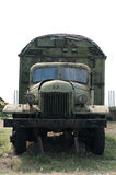 Old military truck Stock Photography