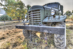 Old military truck. An abandoned old military truck Stock Images