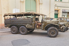Old military truck Dodge WC 52 Royalty Free Stock Photos