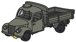 Old military truck Royalty Free Stock Photo
