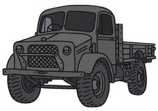 Old military truck Royalty Free Stock Images