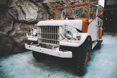 Old Military Vehicle in Retro or Vintage Look Stock Photos