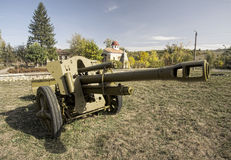 Old military weapon(HDR) Royalty Free Stock Image