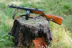 The old military weapons Royalty Free Stock Photos