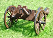 Old military weapons Royalty Free Stock Photography