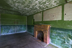 Old Militray Bunker Living Quarter Royalty Free Stock Photography