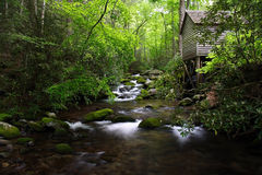 Old Mill. In the Great Smokey Mountains National Park Royalty Free Stock Image