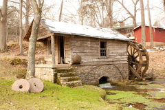 Old Mill. The old mill at Reed's Spring in Missouri royalty free stock photography