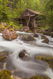 Old Mill. At the Gollinger Waterfall, Austria royalty free stock photography