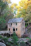 Old Mill in Autumn Royalty Free Stock Photo