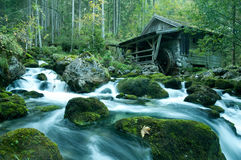 Old Mill. In Berchtesgaden, Bavaria stock photos
