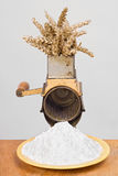 Old mill breadcrumbs Royalty Free Stock Image