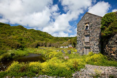 Old Mill at Carleon Cove Royalty Free Stock Photo