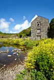 Old Mill at Carleon Cove Royalty Free Stock Images
