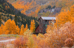 Old mill in Colorado Royalty Free Stock Photos