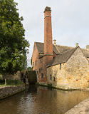 Old Mill in Cotswold district of England Stock Images