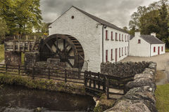 Old Mill. A disused beetling mill in County Tyrone Northern Ireland. Once used for converting the Flax plant into linen cloth Stock Image